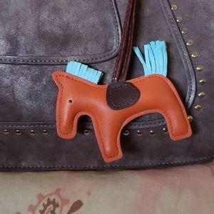 Horse Bag Charm. Pony Caballo Rodeo Farm Ranch